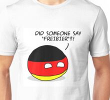 "Germany Countryball ""Did someone say Freibier?"" Unisex T-Shirt"