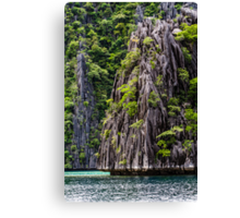 Natural Paradise in Philippines. Canvas Print