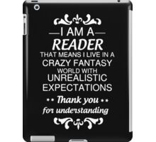 I AM A READER iPad Case/Skin