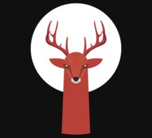 Deer and Moon T-Shirt