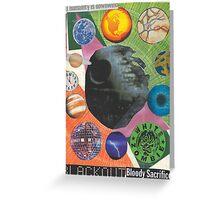 Spherical Musings Greeting Card