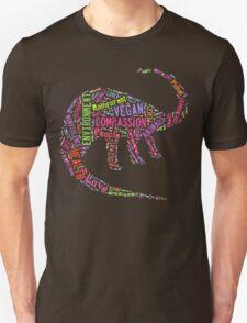 Vegan Dinosaur Unisex T-Shirt