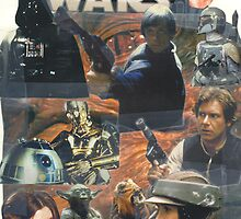 Star Wars Homage Collage #2 by Chan Hurst