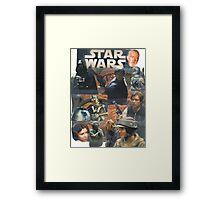 Star Wars Homage Collage #2 Framed Print