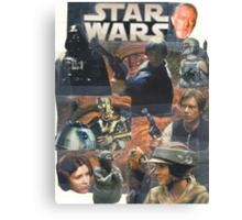 Star Wars Homage Collage #2 Canvas Print