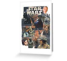 Star Wars Homage Collage #2 Greeting Card
