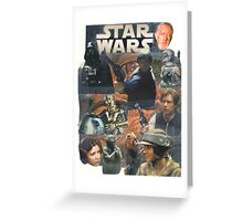 Star Wars Homage Collage #2 Greeting Card