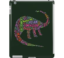Vegan Dinosaur iPad Case/Skin