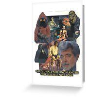 Star Wars Collage Greeting Card