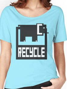 go green - recycle your waste Women's Relaxed Fit T-Shirt