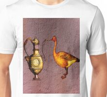 The loves badly understood by sir duck and of madam decanter Unisex T-Shirt