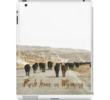 Rush hours in Wyoming iPad Case/Skin