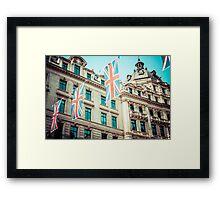 Regent Street in London Framed Print
