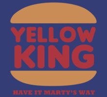 Yellow King Marty Logo by Prophecyrob