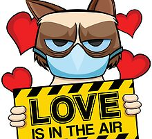 Grumpy Cat - love is in the air by Ober88