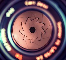 9 Aperture blades from a 50mm Carl Zeiss F1.8 lens by ArthakkerHDR