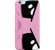Pinkie is watching you iPhone Case/Skin