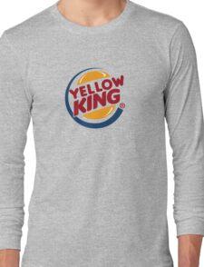 Yellow King Logo 2 Long Sleeve T-Shirt