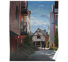 Southampton Medieval Merchant House from High st Poster