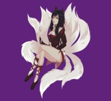 Ahri League of Legends by francy94