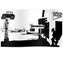 [34]BensonMotelBW Poster