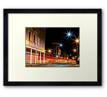 Nassau Nights: Nassau City Framed Print