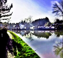 Blisworth Canal, Northamptonshire by Veterisflamme