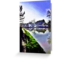 Blisworth Canal, Northamptonshire Greeting Card