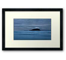 Lone Isle Framed Print