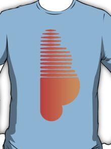 Soundcloud Sticker T-Shirt