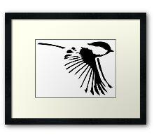 Small Bird in Flight Framed Print