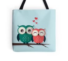 Lovers owls Tote Bag
