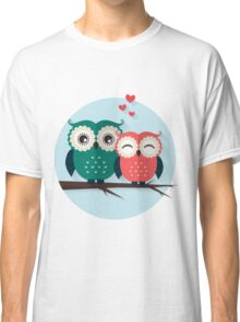 Lovers owls Classic T-Shirt