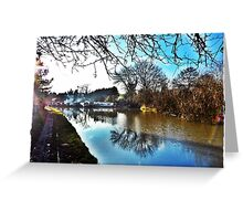 Blisworth Canal Northamptonshire Greeting Card