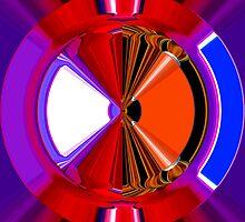 warm & cold - the wheel  by Wieslaw Jan Syposz