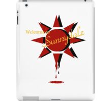 Welcome to Sunnydale iPad Case/Skin