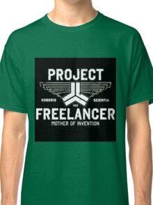 Red vs Blue Project Freelancer Classic T-Shirt
