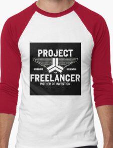Red vs Blue Project Freelancer Men's Baseball ¾ T-Shirt