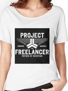 Red vs Blue Project Freelancer Women's Relaxed Fit T-Shirt