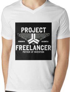 Red vs Blue Project Freelancer Mens V-Neck T-Shirt