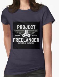 Red vs Blue Project Freelancer Womens Fitted T-Shirt