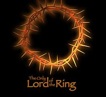 LOTR Crown of Thorns iPhone Case by mikedm