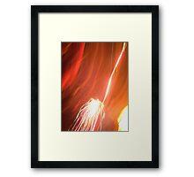 Firework! Framed Print