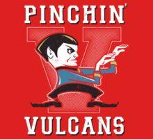 Pinching Vulcans Kids Tee
