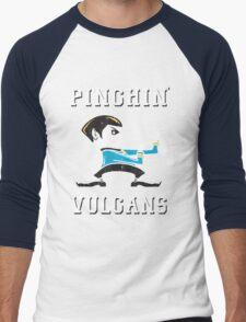 Pinching Vulcans Men's Baseball ¾ T-Shirt
