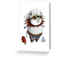 GoggleSheep - Bubba Ruff Greeting Card