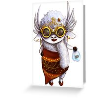 GoggleSheep - Dee Greeting Card