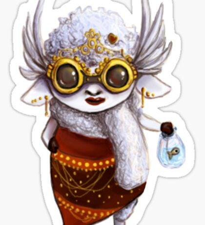 GoggleSheep - Dee Sticker