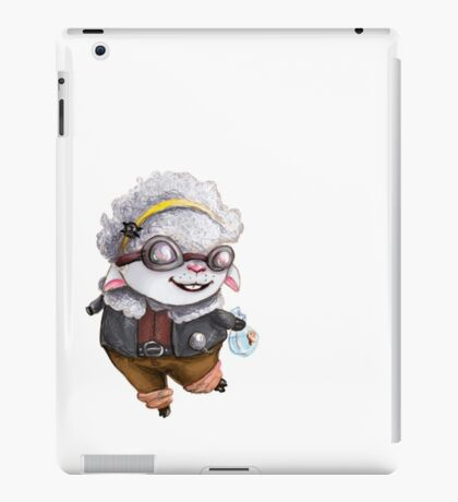 GoggleSheep - Kina iPad Case/Skin