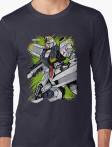 Nu Gundam Long Sleeve T-Shirt